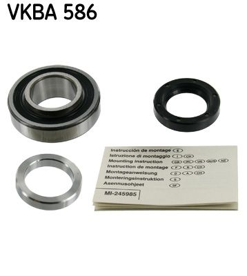 ALFA ROMEO SPIDER 1987 replacement parts: Wheel Bearing Kit SKF VKBA 586 at a discount — buy now!