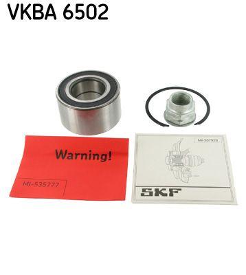 Купете VKBA 6502 SKF с вграден сензор за ABS Ø: 68мм, вътрешен диаметър: 35мм Комплект колесен лагер VKBA 6502 евтино