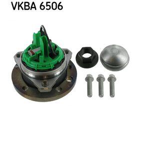 Σετ ρουλεμάν τροχών VKBA 6506 για OPEL ASTRA H (L48) — πάρτε την προσφορά σας, τώρα!