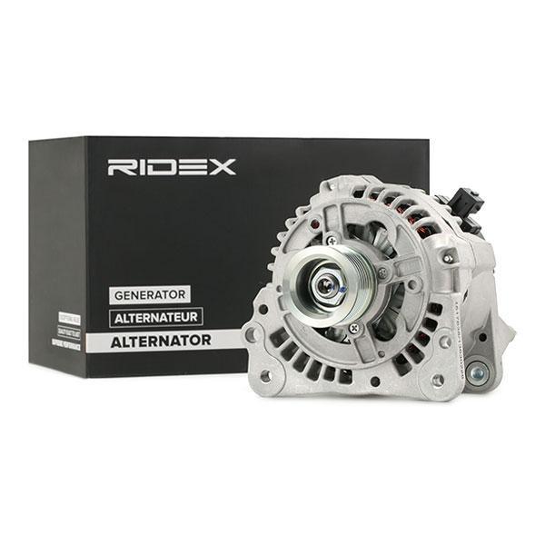 RIDEX: Original Alternator 4G0041 (Rippenanzahl: 6)