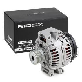 4G0044 RIDEX 14V, 120A Rippenanzahl: 7 Generator 4G0044 günstig kaufen