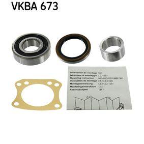 Set rulment roata VKBA 673 pentru NISSAN SILVIA la preț mic — cumpărați acum!