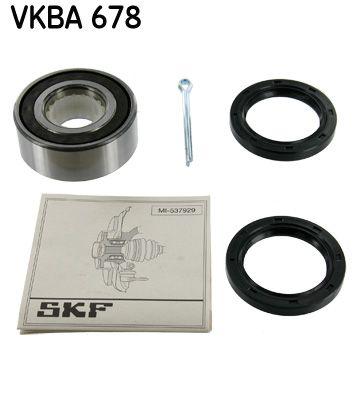 Acheter Kit de roulement de roue Ø: 72mm, Diamètre intérieur: 35mm SKF VKBA 678 à tout moment