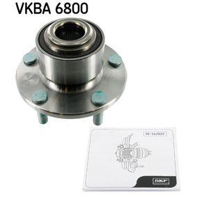 VKN6021 SKF mit integriertem ABS-Sensor Ø: 78mm Radlagersatz VKBA 6800 günstig kaufen