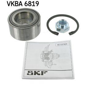 VKBA 6819 SKF Ø: 72mm, Innerdiameter: 40mm Hjullagerssats VKBA 6819 köp lågt pris