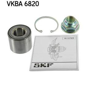 VKBA 6820 SKF Ø: 52mm, Innerdiameter: 25mm Hjullagerssats VKBA 6820 köp lågt pris