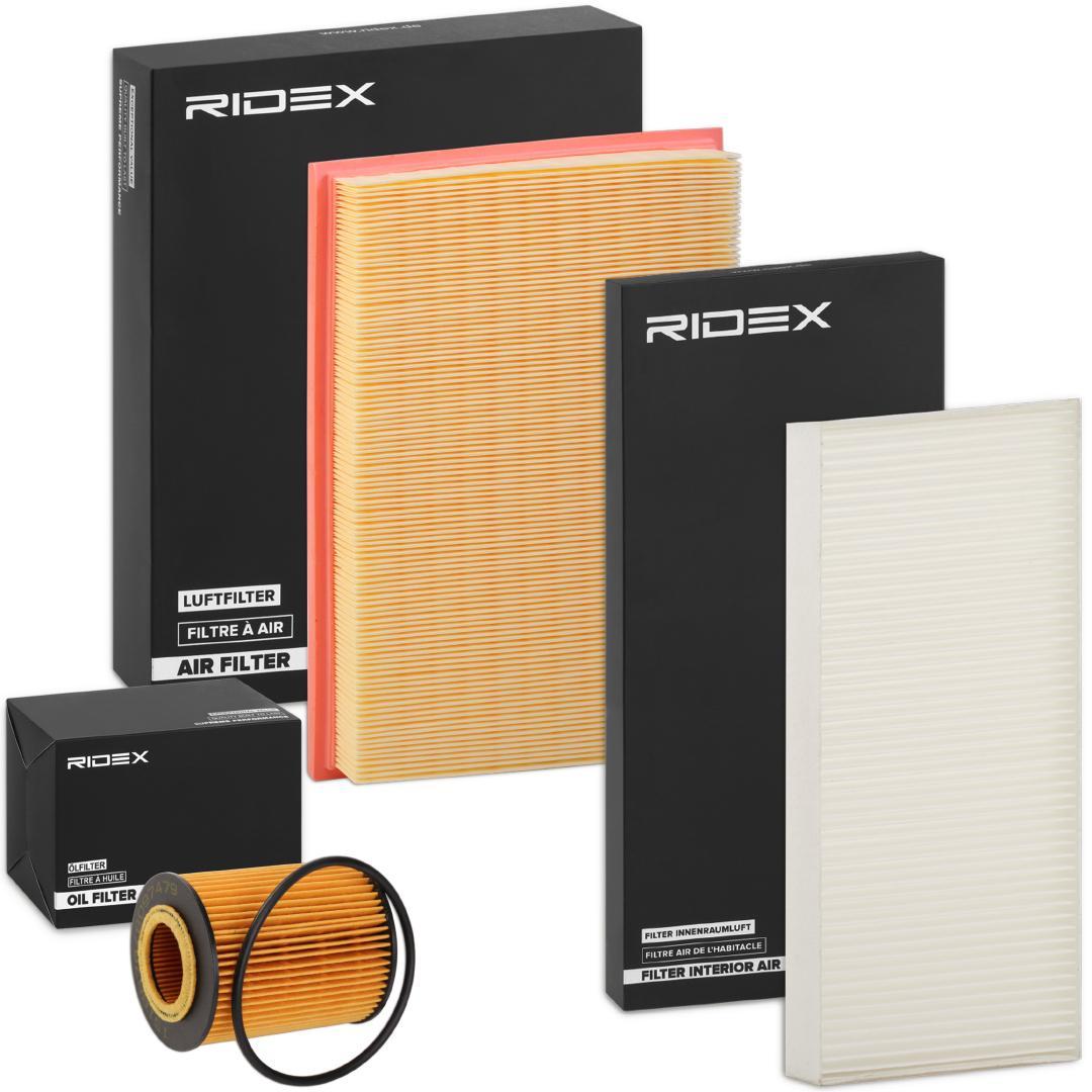 RIDEX: Original Filter-Satz 4055F0021 ()