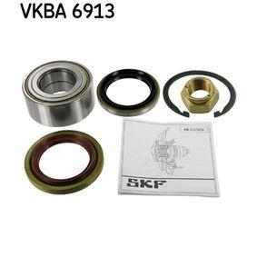 Купете VKBA 6913 SKF Ø: 80мм, вътрешен диаметър: 40мм Комплект колесен лагер VKBA 6913 евтино