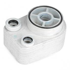 469O0026 Ölkühler, Motoröl RIDEX - Markenprodukte billig