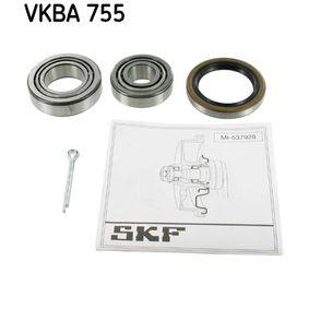 Radlagersatz VKBA 755 TOYOTA TERCEL Niedrige Preise - Jetzt kaufen!
