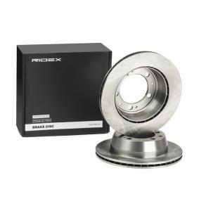 82B1236 RIDEX Innenbelüftet, ohne Radnabe, ohne Radbefestigungsbolzen Ø: 289mm, Bremsscheibendicke: 20,0mm Bremsscheibe 82B1236 günstig kaufen