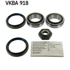 комплект колесен лагер VKBA 918 за FORD SIERRA на ниска цена — купете сега!