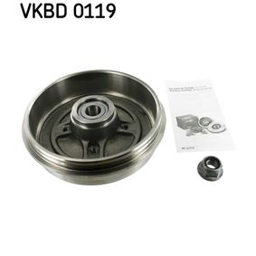 VKBD 0119 SKF Bremstrommel