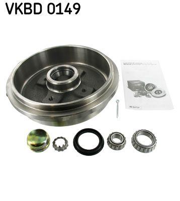 VKBA529 SKF mit integriertem Radlager, Ø: 240mm Bremstrommel VKBD 0149 günstig kaufen