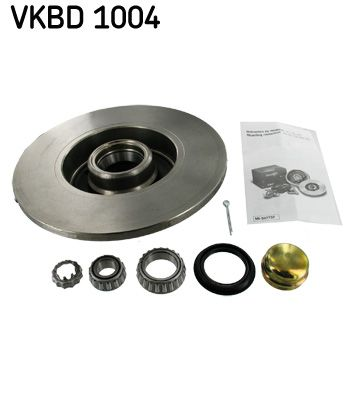 VKBA529 SKF Voll, mit integriertem Radlager Ø: 226mm, Bremsscheibendicke: 10mm Bremsscheibe VKBD 1004 günstig kaufen