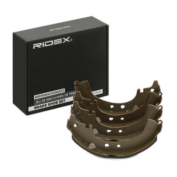 RIDEX   Bremsbackensatz 70B0242