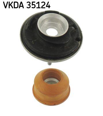 Original SKODA Fjäderbenslagring och fjäderbenslager VKDA 35124