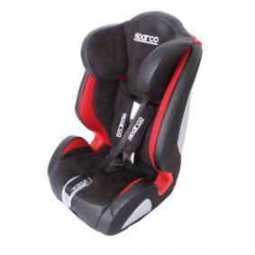 1000KPURS SPARCO F1000K PREMIUM schwarz, rot, Polyester, Kunststoff, ISOFIX: Nein, Gruppe: 1, Gruppe: 2, Gruppe: 3 Gewicht des Kindes: 9-36kg, Kindersitzgeschirr: 5-Punkt-Gurt Kindersitz 1000KPURS günstig kaufen