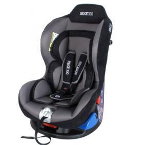 5000KGR SPARCO F5000K grau, hellblau, Polyester, Kunststoff, Edelstahl, ISOFIX: Nein, Gruppe: 0+, Gruppe: 1 Gewicht des Kindes: 0-18kg, Kindersitzgeschirr: 5-Punkt-Gurt Kindersitz 5000KGR günstig kaufen