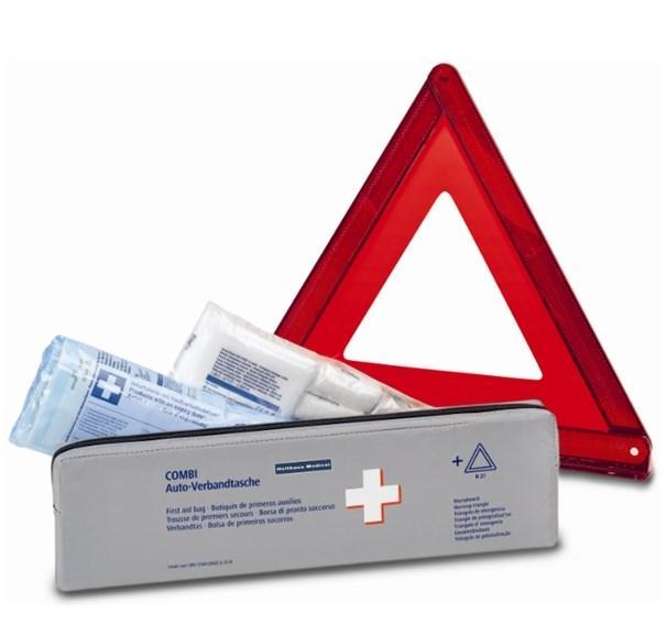 Comprare 62250 Holthaus Medical DIN 13164 Kit di pronto soccorso per auto 62250 poco costoso