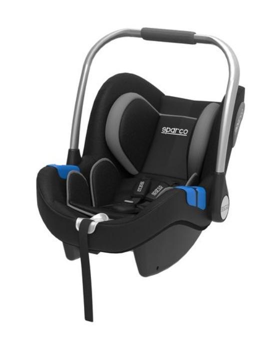300IGR SPARCO F300i grau, schwarz, Polyester, Edelstahl, Kunststoff, Gruppe: 0+ Gewicht des Kindes: 0-13kg, Kindersitzgeschirr: 3 Punkt-Gurt Kindersitz 300IGR günstig kaufen