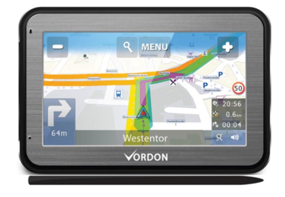 VGPS5AVEUALU1992 VORDON Anglicky, Německy, Polsky Navigační systém VGPS5AVEUALU1992 kupte si levně