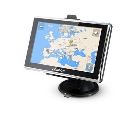 VGPS5EUAV VORDON Wi-Fi: Ne Anglicky, Německy, Polsky Navigační systém VGPS5EUAV kupte si levně