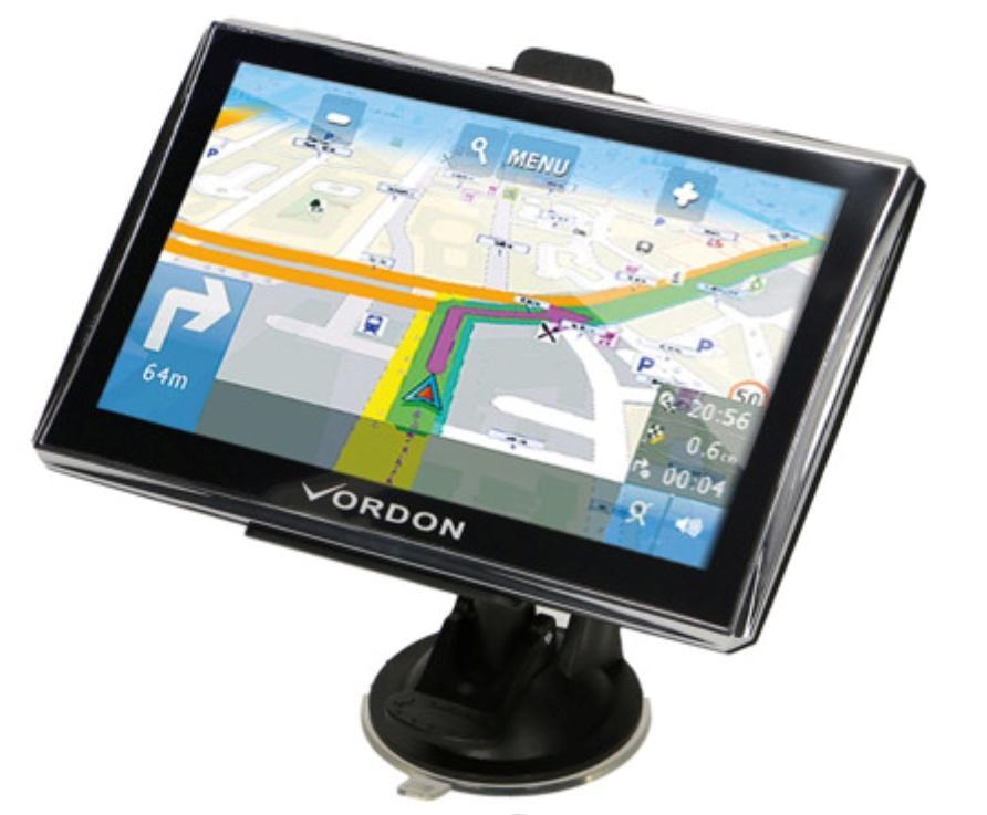 VGPS7EU VORDON Wi-Fi: Ne Anglicky, Německy, Polsky Navigační systém VGPS7EU kupte si levně