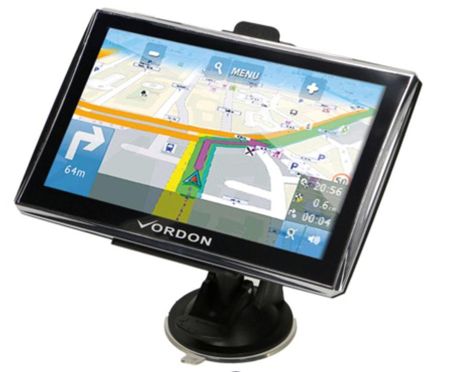 VGPS7EUAV VORDON Wi-Fi: Nee Duits, Engels, Pools Navigatiesysteem VGPS7EUAV