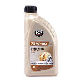 Įsigyti ir pakeisti greičių dėžės alyva K2 O5561S