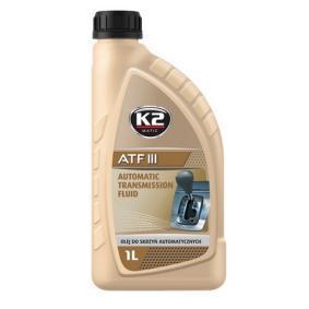 Įsigyti ir pakeisti alyva, automatinė pavarų dėžė K2 O5731S
