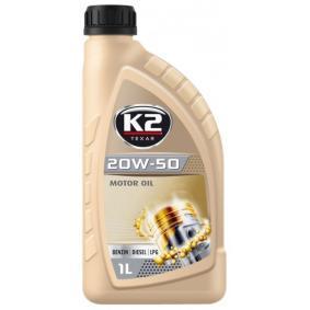 Comprar y reemplazar Aceite de motor K2 O05B0001