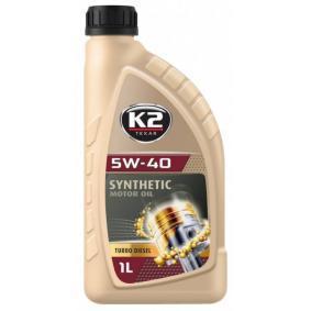Comprar y reemplazar Aceite de motor K2 O34D0001