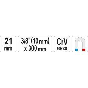 YT0819 Zündkerzenschlüssel YATO YT-0819 - Große Auswahl - stark reduziert