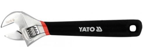 Køb YT-21651 YATO Länge: 200mm, SW: 24, Krom-vanadium-stål Skiftenøgle YT-21651 billige