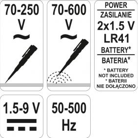 YT2864 Spänningsprovare YATO YT-2864 Stor urvalssektion — enorma rabatter
