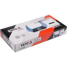 YT72302 Bügelmessschraube YATO YT-72302 - Große Auswahl - stark reduziert