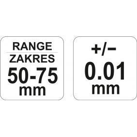 YT-72302 Bügelmessschraube YATO - Markenprodukte billig