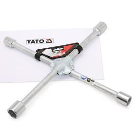 YT-0800 YATO Krom-vanadium-stål, N.vidd: 17, N.vidd: 19, N.vidd: 21, N.vidd: 22 Fälgkors YT-0800 köp lågt pris