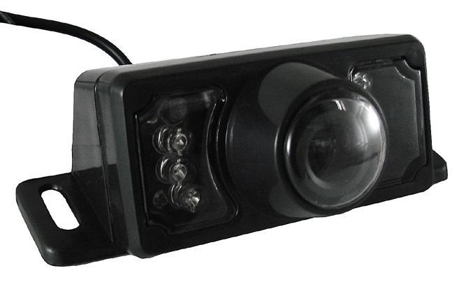 Ostaa 004665 JACKY 12V, Musta, Ilman anturia, 120° Peruutuskamera 004665 edullisesti