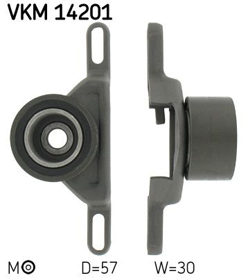 SKF Spannrolle, Zahnriemen VKM 14201