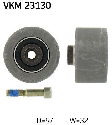 VKM 23130 SKF mit Befestigungsmaterial Umlenkrolle Zahnriemen VKM 23130 günstig kaufen
