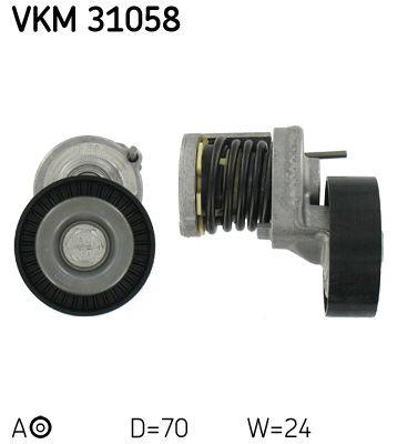 VKM 31058 Spannrolle, Keilrippenriemen SKF - Markenprodukte billig