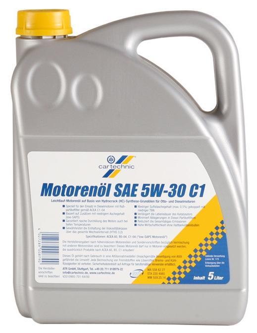 Motorenöl CARTECHNIC 40 27289 01436 4