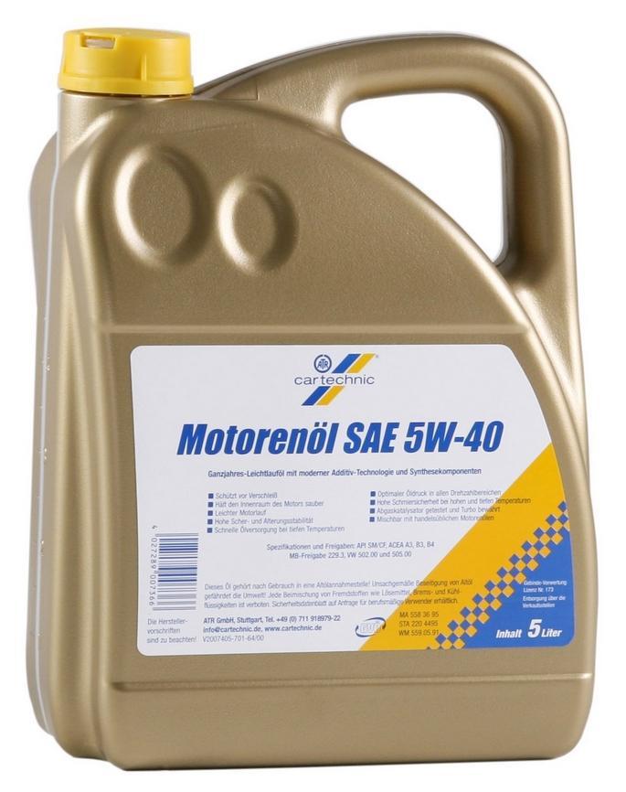 Motoröl CARTECHNIC 4027289007366