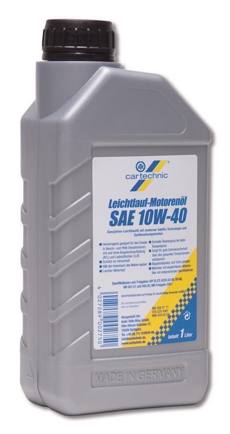 Motorenöl CARTECHNIC 4027289007403