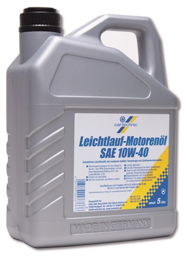 Motorenöl CARTECHNIC 4027289007410