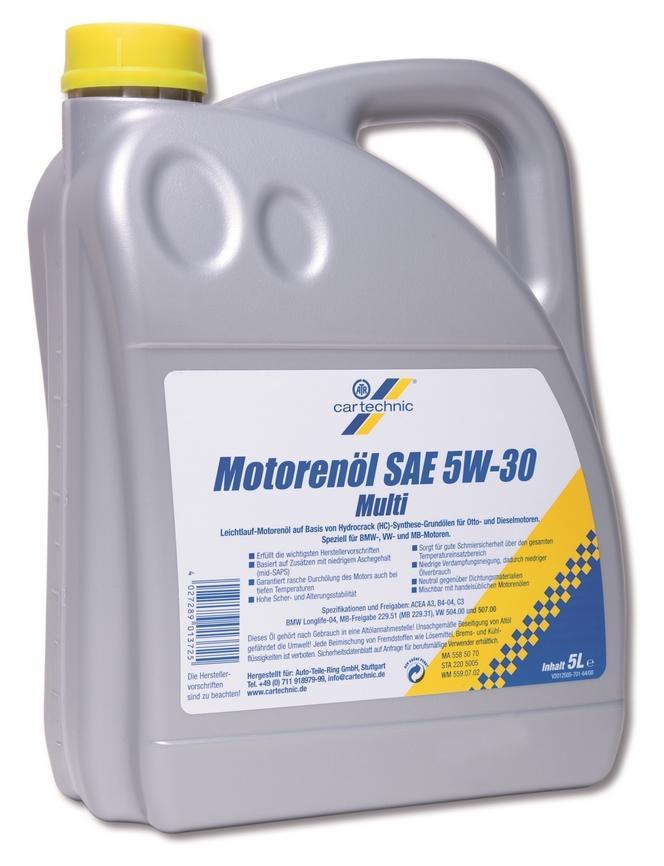 Motorenöl CARTECHNIC 40 27289 01372 5