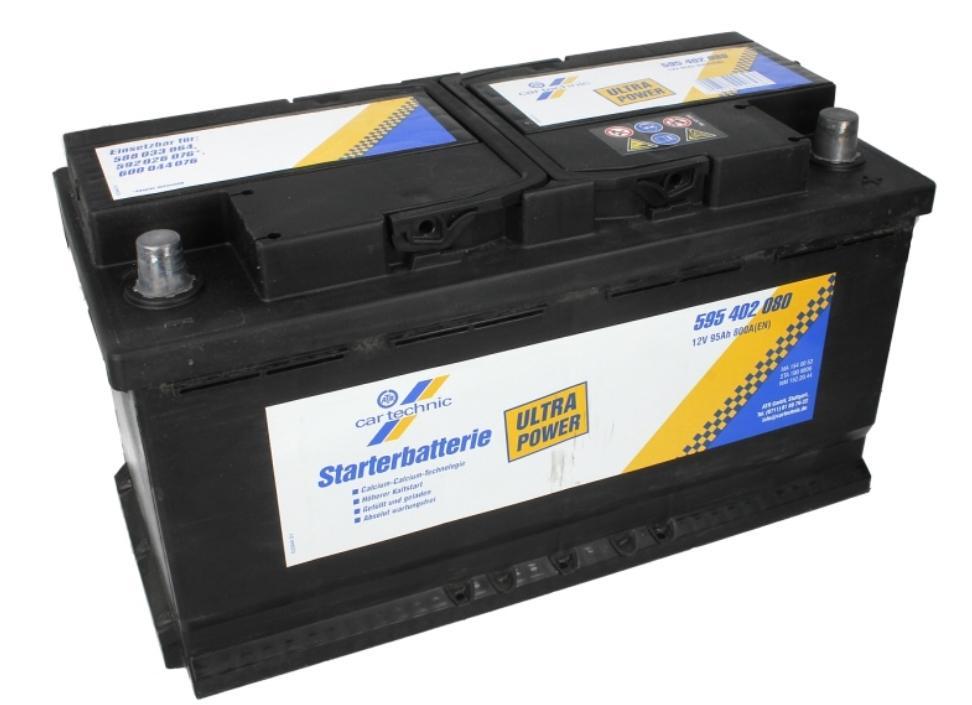 OE Original Starterbatterie 40 27289 00653 6 CARTECHNIC