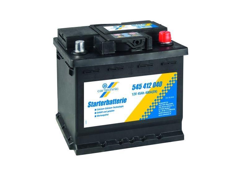 OE Original Starterbatterie 40 27289 00658 1 CARTECHNIC